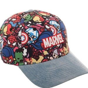 Marvel kawaii curved bill hat
